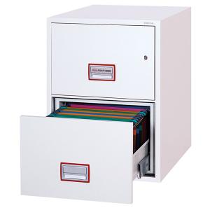 Brandsäkra arkivskåp / hängmappsskåp FS2252 nyckellås