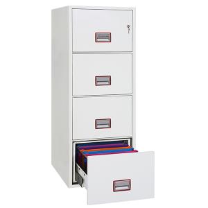 Brandsäkert arkivskåp FS2254 med nyckellås
