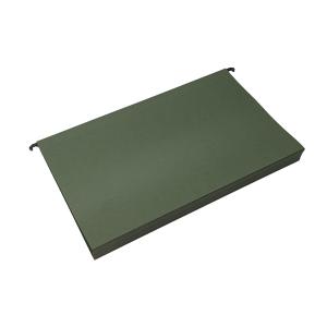 AL hängmapp Folio 30mm botten, Grön